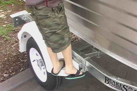 Boat Trailer Mudguards